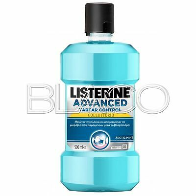 Listerine Colluttorio Advanced Tartar Control - 500Ml Igiene Dentale
