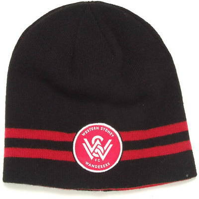 Western Sydney Wanderers Reversible Beanie- 100% Official A-League Product