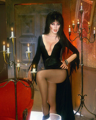 Cassandra Peterson aka Elvira Mistress of the Dark UNSIGNED photo - 3796