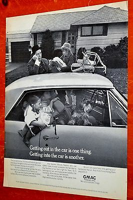 1965 Chevy Chevelle Coupe & Family For Gmac Ad - Retro 60S Chevrolet Gm Vintage