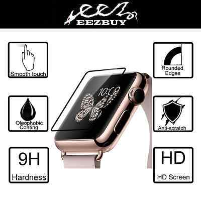 9H Tempered Glass film Screen Protector for Apple watch iwatch 38mm 42mm
