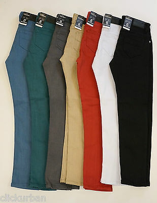 VICTORIOUS Boy's Skinny Jeans Twill Denim Pants Size 8 - 18
