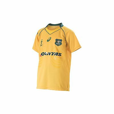 2016 KIDS YOUTH Wallabies Australia ASICS Replica Jersey 8-14