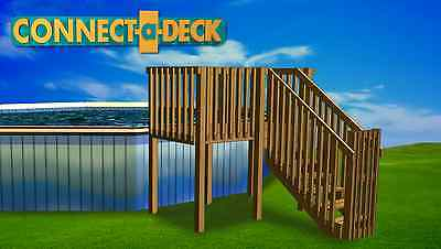 4'x8' DIY Deck, Fence, Ladder & Enclosure Gate, SWIMMING POOL ENTRY SYSTEM