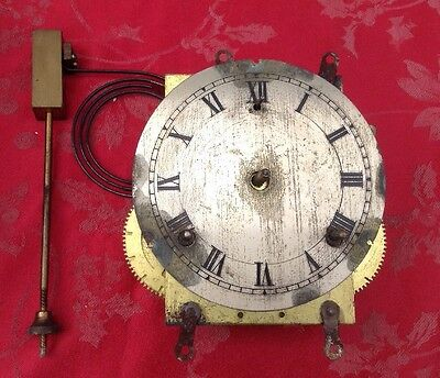 High Quality Gilbert Mantel Clock Movement And Dial And Original Gong