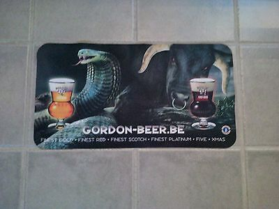 1 X Tapis de bar bière GORDON-BEER.BE