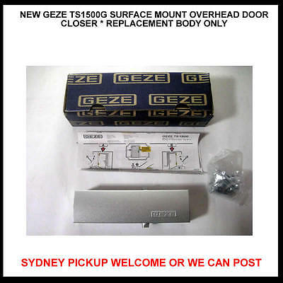 New Geze Ts1500G Surface Mount Overhead Door Closer * Replacement Body Only
