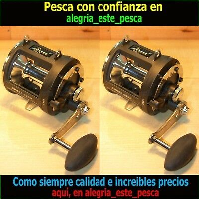 Pesca - 2 Carretes Currican / Trolling Space 8090  8Bb