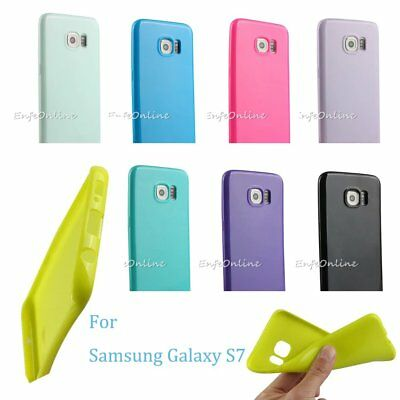 Ultra-Slim Soft TPU Silicone Back Case Cover Skin for Samsung Galaxy S7 HOT!!!