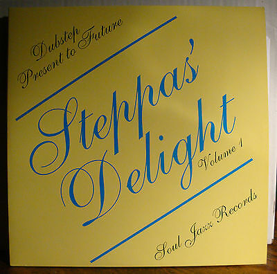 DoLP STEPPAS' DELIGHT Volume 1  2008  Kode9 Benga Goth Trad Plastician Uncle Sam