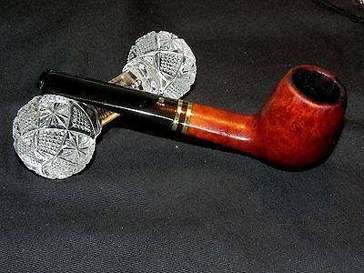 Stunning Estate Vintage Stanwell Brass Band Diplomat Billiard Pipe Buy Now Offr