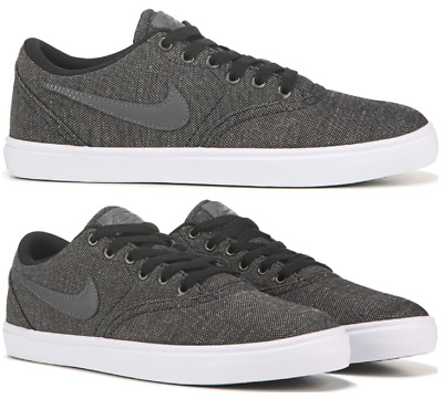 newest 52a51 c64b9 Men s Nike SB Check Solar Sneakers Canvas Skate Lifestyle Shoes