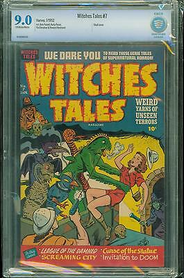 Witches Tales #7 [1952] Certified[9.0] High-Grade