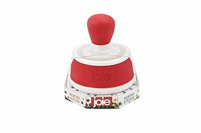 Joie Silicone Mortar and Pestle Spice Herb Grinder Pill Crusher Set, Stonewar...