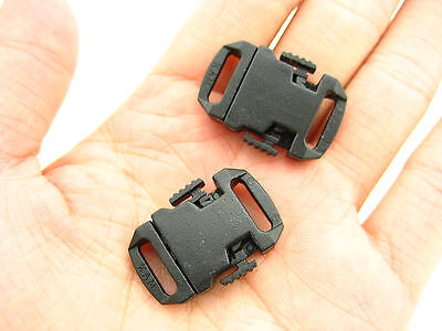 KAM quality plastic small Delrin Side Release cute Buckles Clips neck strap end