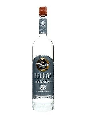 Beluga Vodka Gold Line Russian 700 Ml Limited Edition Gift Box