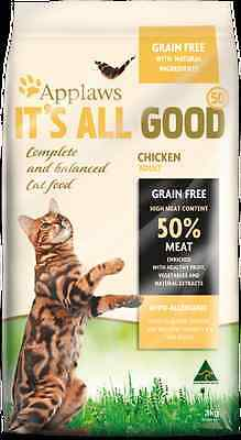 Applaws Cat Adult 3Kg Dry 50% Meat