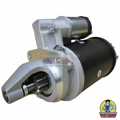 Starter Motor Lucas Replacement 12V 2.8KW CW 10T 40mm Perkins Dsl Eng LH Mount