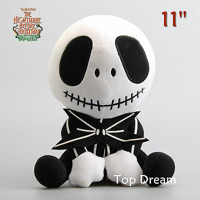 11'' The Nightmare Before Christmas Party Jack Skellington Plush Soft Toys Doll