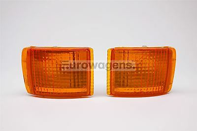 Ford Sierra Cosworth XR4i GHIA Orange Front Indicators Repeaters Set Left Right