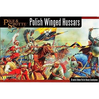 Warlord Games - Pike & Shotte - Polish winged hussars - 28mm