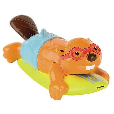 Tomy Aquafun Surfin' Beaver Bath Toys toddler Gift - T72032
