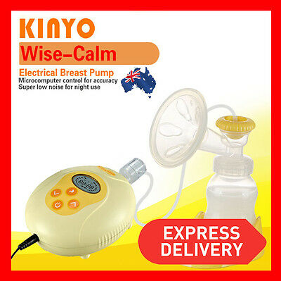 Kinyo Bpa Free Quiet Wise Electric Breast Pump Feeding Baby Milk Fda Tested