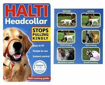 NEW (Halti) Head Collar & Link for Dogs Size 3 (Black)