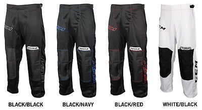 New Ccm Rbz 110 Inline Pants Black+Red Size -Senior