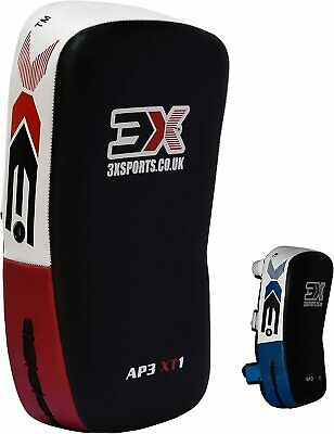Thai Kick Boxing Strike Focus Pads Punching Shield Leg Curved Pad MMA UFC