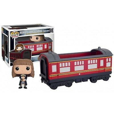 Figurine Harry Potter - Hogwarts Express Carriage & Hermione Pop Rides 15cm