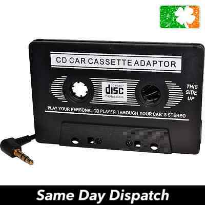 Car Audio Tape Cassette Adapter to 3.5mm Jack iPhone iPod Cd Radio Mp3 Nano Aux