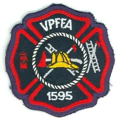 Vintage Vaughn Professional Fire Fighters Association Uniform Patch Ontario ON