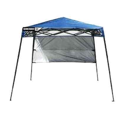 Backpack Canopy Blue 6X6 Tent Gazebo Shelter Portable Cover Top Shade Pop Up NEW