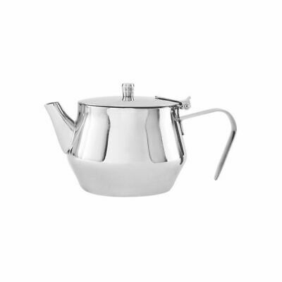 Teapot 1500mL Stainless Steel 'Atlantic' Flip Lid Tea Pot Coffee Pourer Cafe