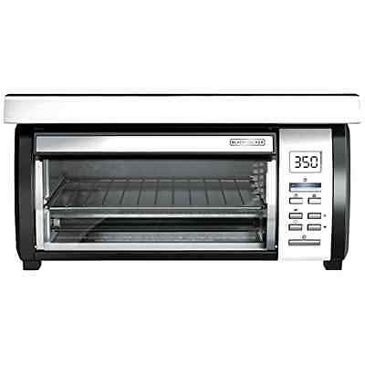 Black Decker Toaster Oven Under Cabinet Space Saver Digital Stainless Cooking