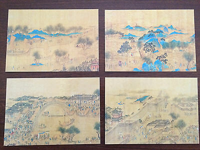 "Vatican City 1996 Set of 4 Mint Postcards ""China '96"""