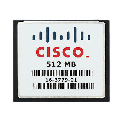 NEW 100% Genuine 512MB CISCO Compact Flash CF Memory Card  Made in USA