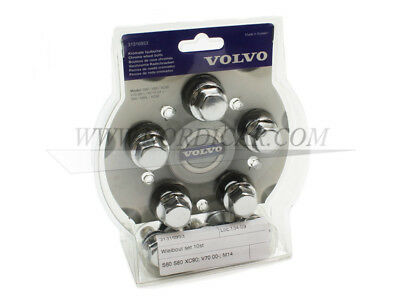 Volvo 31316953 Wheel bolt set 10pc.; aluminum rim S60 V60 S80 V70 XC60 XC70 XC90