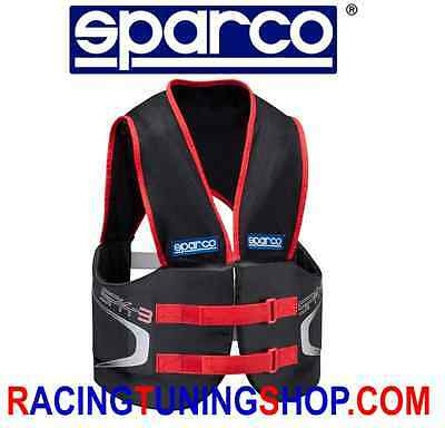 Corpetto Paracostole Sparco Spk-3 Rib Protection Vest Chaleco De Karting