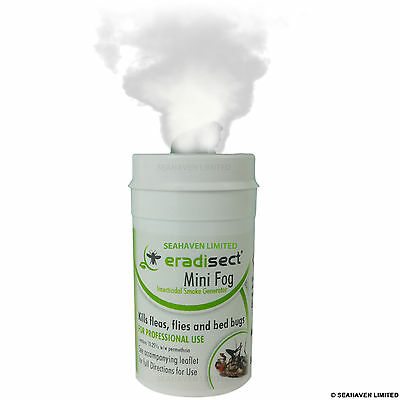 5 x GREENHOUSE SMOKE GENERATOR RED SPIDER MITE GREEN WHITE FLY BUG PEST CONTROL