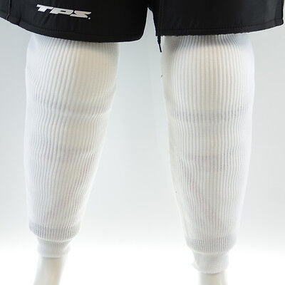 JUNIOR TPS Hockey socks WHITE training socks, knitted ice hockey socks