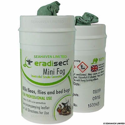 10 x Insecticide Smoke Bomb Insect Pest Control Flea Bug Bedbug Cockroach Spider