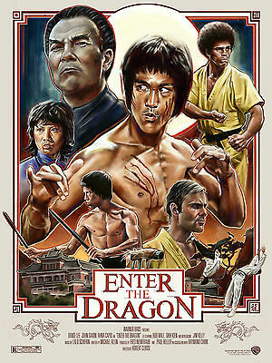 Enter The Dragon Bruce Lee Poster 1 (Sizes-A5-A4-A3-A2-A1) + Surprise A3 Poster