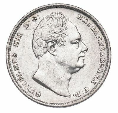 1834 SIXPENCE WILLIAM IV VERY HIGH GRADE EF Ref-256