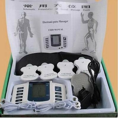 Full Body Electric Muscle Stimulator Massager Tens Acupuncture Therapy Machine