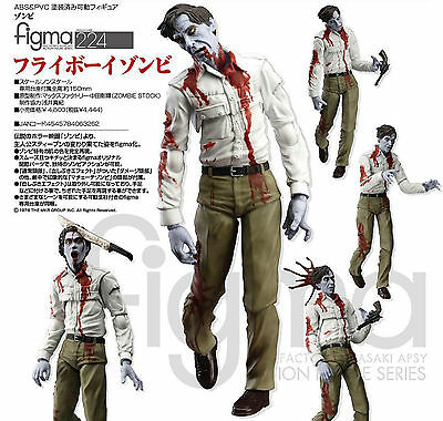 FIGMA Flyboy Zombie - Dawn of the Dead Action Figure HORROR