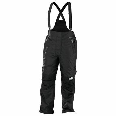 Castle X Youth Black CR2 Insulated Snowmobile Bibs Pants Snocross