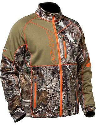 CastleX Mens Realtree Xtra Fusion SE Snowmobile Mid-Layer Jacket Snow Snocross