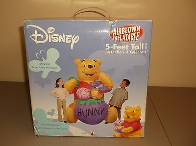Disney Winnie the Pooh 5 Foot Tall  Airblown Inflatable